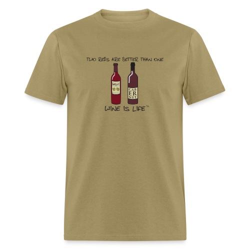 Two Reds - Mens Standard Tee - Men's T-Shirt