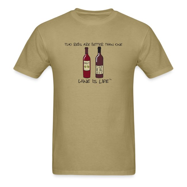 Two Reds - Mens Standard Tee