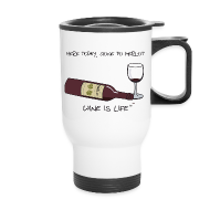 Mugs & Drinkware ~ Travel Mug ~ Here Today - Travel Mug