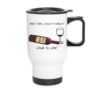 Here Today - Travel Mug - Travel Mug