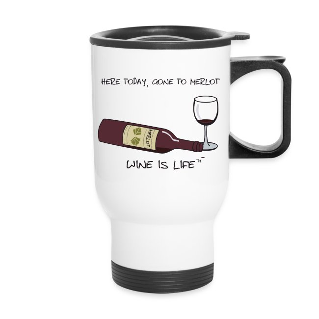 Here Today - Travel Mug