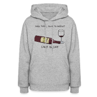 Hoodies ~ Women's Hoodie ~ Here Today - Womens Hooded Sweatshirt