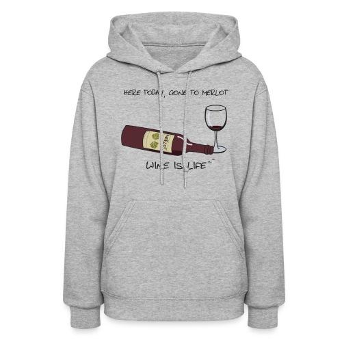 Here Today - Womens Hooded Sweatshirt - Women's Hoodie