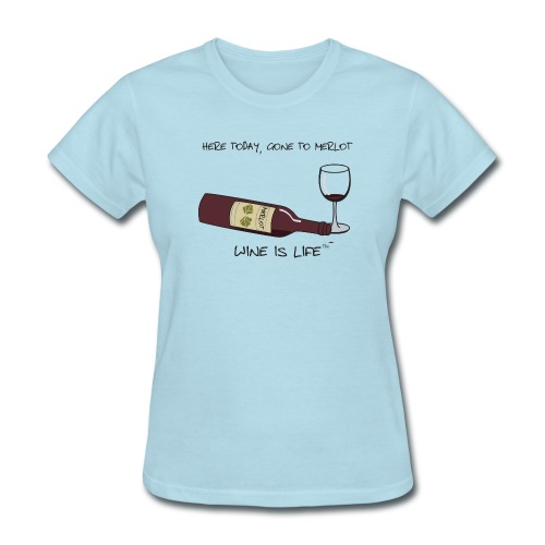 Here Today - Womens Standard Tee - Women's T-Shirt