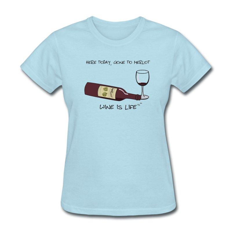 Here Today - Womens Standard Tee - Women's T-Shirt