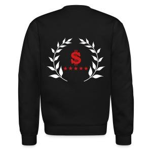 Crewneck Sweatshirt - sweatshirt,stars,money,dollar sign