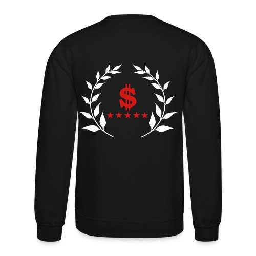 Crewneck Sweatshirt - sweatshirt,stars,money,dollar sign