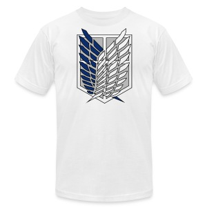Survey Corps Front - Men's T-Shirt by American Apparel