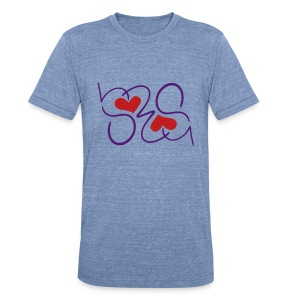 SRS Small Hearts - Unisex Tri-Blend T-Shirt