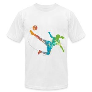 Soccer Chick - Men's Fine Jersey T-Shirt