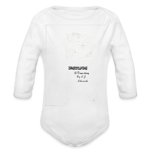 Discards baby onesy - Organic Long Sleeve Baby Bodysuit