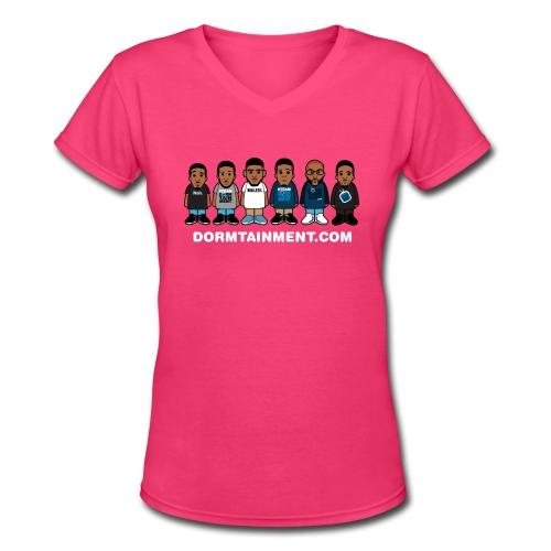 Character V-Neck T-shirt - Women's V-Neck T-Shirt