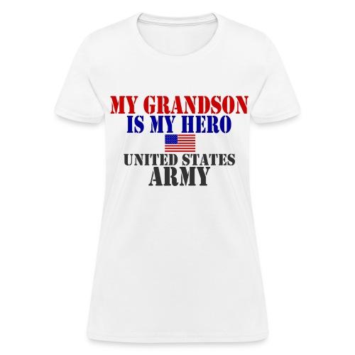 Grandson Hero- Army - Women's T-Shirt