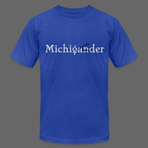 Michigander - Men's T-Shirt by American Apparel
