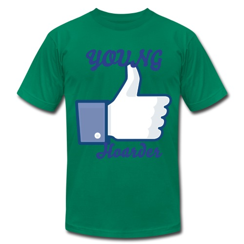 young hoarder thumbs up shirt - Men's Fine Jersey T-Shirt