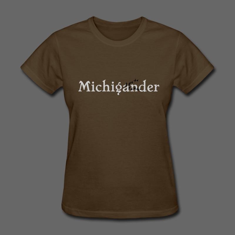 Michigander - Women's T-Shirt