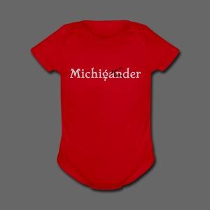 Michigander - Short Sleeve Baby Bodysuit