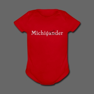 Michigander - Short Sleeve Baby Bodysuit