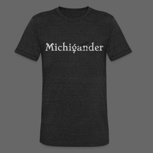 Michigander - Unisex Tri-Blend T-Shirt by American Apparel