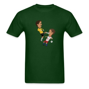 Men T-Shirt - Kungfu goalkeeper from Bremen - Men's T-Shirt