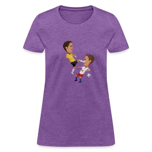 Women T-Shirt - Kungfu goalkeeper from Bremen - Women's T-Shirt