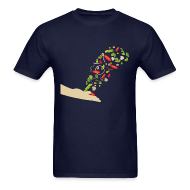T-Shirts ~ Men's T-Shirt ~ Salad Toss