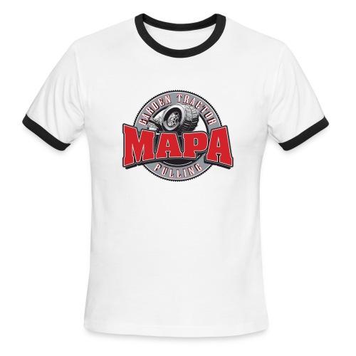 MAPA ringer tee - Men's Ringer T-Shirt