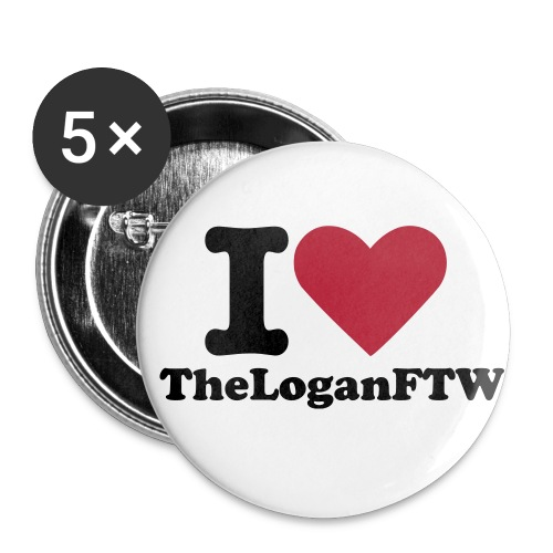 I Love TheLoganFTW - Large Buttons