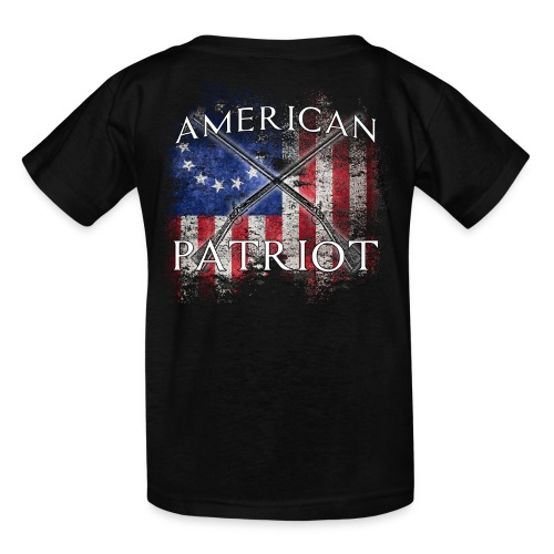 American Patriot Muskets - Kids' T-Shirt