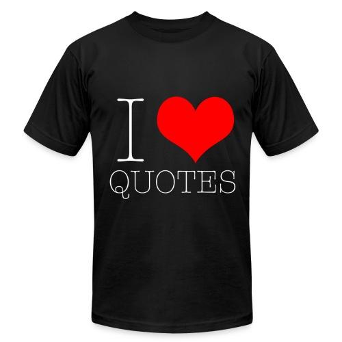 White I Love Men's - Men's Jersey T-Shirt