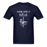 T-Shirts ~ Men's T-Shirt ~ HIgh Heels & Wheels