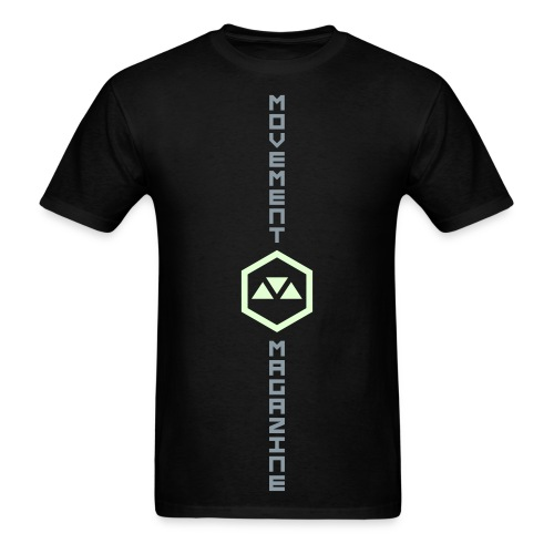 MOVEMENT - GLOW LOGO CENTER - Men's T-Shirt
