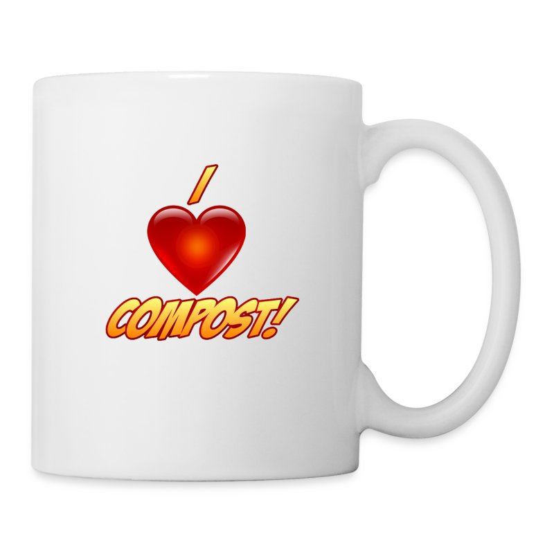 I Heart Compost! Coffee - Coffee/Tea Mug