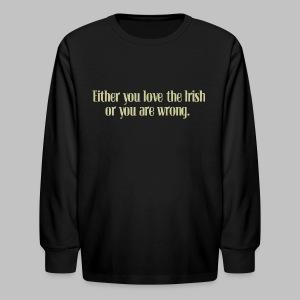 Irish or Wrong