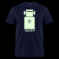 T-Shirts ~ Men's T-Shirt ~ Glowing Robot Shirt