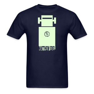 Glowing Robot Shirt - Men's T-Shirt