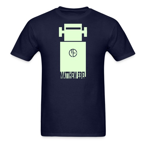 Glowing Robot Shirt - Men's T-Shirt