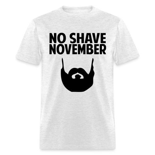 No Shave November Grizz Squad - Men's T-Shirt