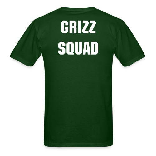 No Pain No Gain GRIZZ SQUAD - Men's T-Shirt