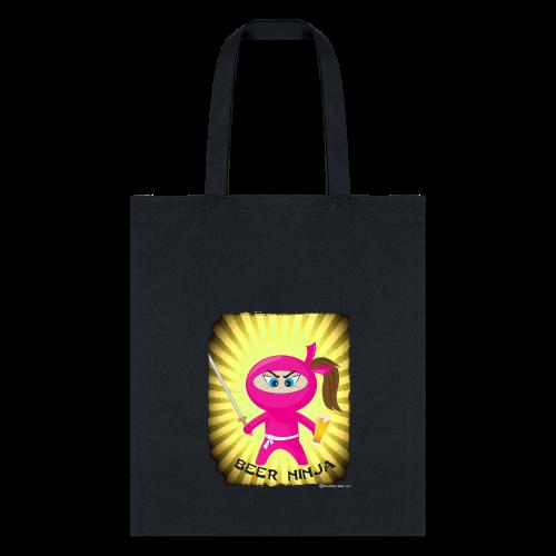 Beer Ninja Tote Bag - Tote Bag
