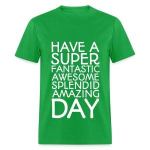 Amazing Day Tee - Men's T-Shirt