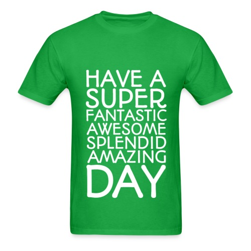 Amazing Day Tee - Men's T-Shirt