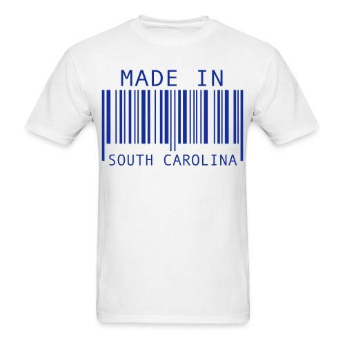 Made In SC Men's T-Shirt - Men's T-Shirt