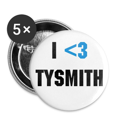 I Heart TySmith - Large Buttons