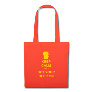 Keep Calm Get Your Beer On Tote Bag - Tote Bag