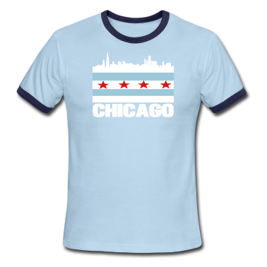 city of chicago t shirt spreadshirt