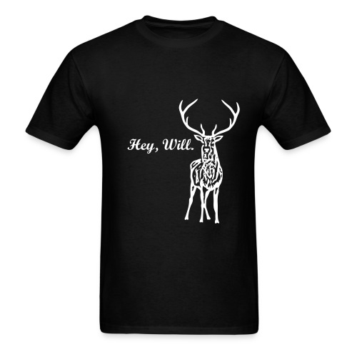 Hey, Will. t-shirt - Men's T-Shirt