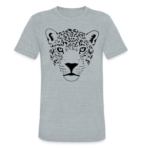 Leopard T-shirt - Unisex Tri-Blend T-Shirt