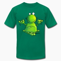 Ohmmm frog- meditation - yoga  T-Shirts
