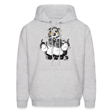 Australian Shepherd and sheep - Dog Hoodies